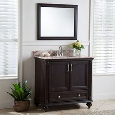 Home Decorators Collection 37 In. Stone Effects Vanity Top In Cold Fusion  With White Basin