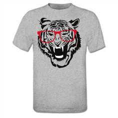 Tiger With Glasses T-Shirt / now available @Shirtcity
