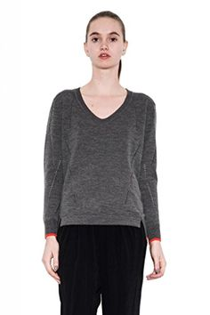Riley Stylish Classic V-Neck Wool Pullover Long Sleeve by One Grey Day Gray-L One Grey Day http://www.amazon.com/dp/B00O8HK3HQ/ref=cm_sw_r_pi_dp_VFyavb1WJEEZP