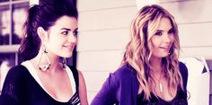 lucy hale and ashley benson omg from an episode of pretty little liars i also look up to ashely benson