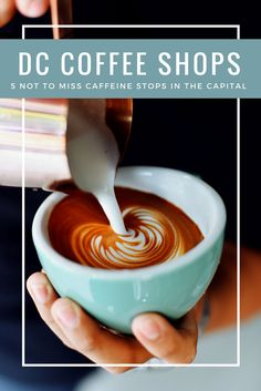 Best Coffee Shops in DC- Sometimes you just need a caffeine fix when you are touring the nation's capital. Check out these best places to get coffee in Washington DC before you next DC trip. Washington Dc Shopping, Washington Dc Eats, Georgetown Washington Dc, Living In Washington Dc, Washington Dc Restaurants, Washington Dc Travel, Georgetown Restaurants, Best Coffee Shop, Coffee Shops