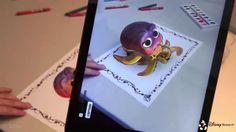 Com realidade aumentada, Disney dá vida (em tempo real) aos livros de colorir.