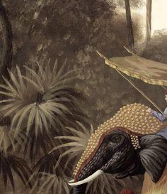 La couleur tendance motifs inspiration et chinoiserie - Stijl asiatique ...