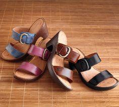 more #Born sandals! we love the fuchsia.