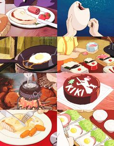 Studio Ghibli + food Studio ghibli art Studio ghibli fanart Ghibli