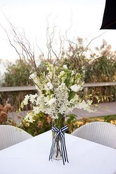 Coren Moore Real Weddings: Real Wedding - Montauk Yacht Club    Without the sticks