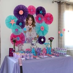 Disney Violetta Birthday Party