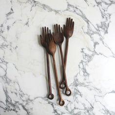 large hand spoons — ariele alasko