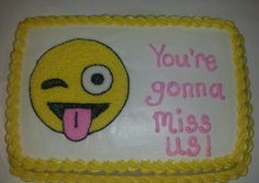 10 hilarious farewell cakes that would turn sad goodbyes happy! Farewell Decorations, Retirement Party Decorations, Retirement Cakes, Retirement Parties, Retirement Ideas, Birthday Parties, Birthday Cake, Goodbye Cake, Goodbye Party