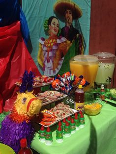 Mexican fiesta, cinco de mayo, Mexican party, Mexico, aguas frescas, Mexican candy, piñata