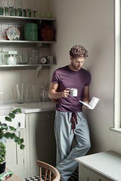 Pantalones de costura instrucciones de pijama con patrón