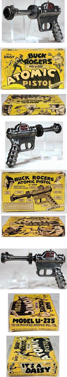 Buck Rogers U-235 atomic pistol