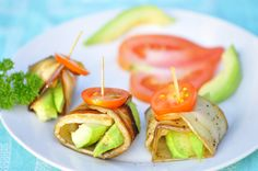 White Eggplant with Advocado! White eggplant is amazing and paired with advocado make this super healthy and delicious.