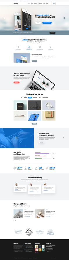 Albedo - Universal & Multipurpose Soft Material PSD Template by themefire
