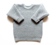 Babies/Children's Virgin wool sweater with buttons from Woolenfashion by DaWanda.com