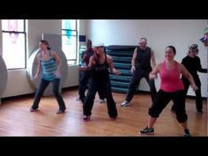 Dance Fitness...Don't Stop The Party  ( Everybody Dance Now remix)