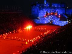 Tattoo Show from Rooms in Scotland website
