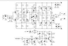 Electronic Circuit Projects, Electronic Schematics, Audio Amplifier, Circuit Diagram, Arduino, App, Detail, Craft, Electronic Circuit