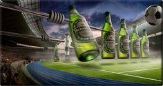 Kreative Werbung Heineken Kicker