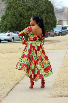 African Dress/ Dashiki dress/ African Prom Dress/ Ankara Remilekun - African Styles for Ladies African Fashion Designers, African Fashion Ankara, Latest African Fashion Dresses, African Print Fashion, African Wear, African Attire, African Dress, African Prints, African Fabric