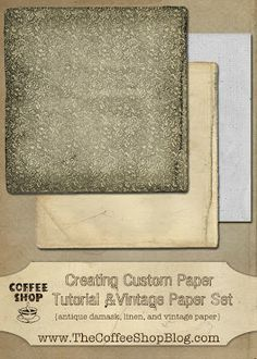 Textures and Digital Paper