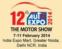 12th Auto Expo - The Motor Show 2014