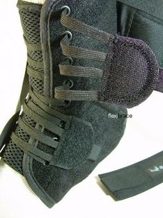 ASO Speed Lacer - Black - Small by ASO. $21.00. Speed lace closure: allows easier and faster application. Stabilizing straps: form figure-eight to protect and support ankle. Elastic cuff closure: enhances support from stabilizing straps. Low profile: will fit in any type of shoe. Bilateral design: each size fits left or right foot. Breathable nylon boot enhanced breathablility for long-term wear. US manufacturing: higher quality control standards.  Each ankle brace is sold...