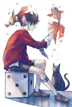 Anime Guy | Painting | Art