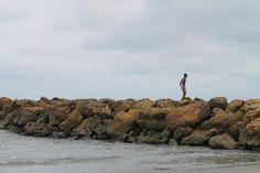 El niño y el mar...   Cartagena - Agosto 2014