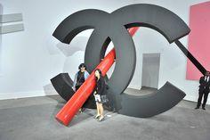 Karl Lagerfeld's Art Movement.   Chanel's art gallery