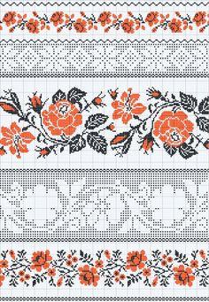 Вышивка в русском стиле схемы
