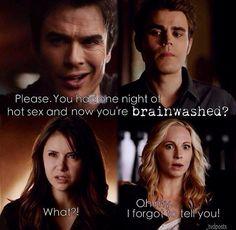 Oh Caroline...