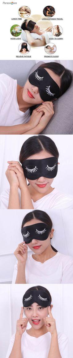 Sleeping Eye Mask Black Eye Shade Sleep Mask Black Mask Bandage On Eyes For Sleeping Health Care Emotion Sleep Mask Cotton Pads Novel In Design;