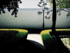 Manuel Amado  -  Junto ao Muro (At the Wall)    [oil on canvas, 1999]