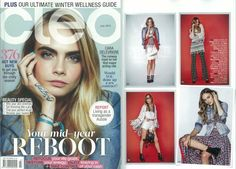 CODE LOVE featured in the lovely CLEO's July edition!