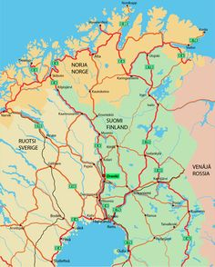 8 Best Info Maps And Tips Images Lapland Finland Arctic Circle