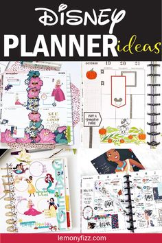 Disney Planner, To Do Planner, Kids Planner, Planner Tabs, Mini Happy Planner, Planner Layout, Printable Planner, Planner Stickers, Planner Diy