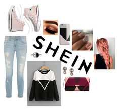 """""""Shein"""" by meinersk45195 ❤ liked on Polyvore featuring Ted Baker, Harper & Blake, Bony Levy, FOSSIL, Madewell, crazyforfashion and shein"""