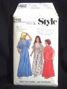 1970s Girls Dress Pattern, Billowy Cape Sleeves & Skirt Flounces Style 2115 Size 8 Chest 27 Bridesmaid Flower Girl Special Party Dress CUT by RuthsGreenTreasures on Etsy