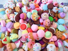 Mystery Box of assorted handmade polymer clay by sillycupcakes, $19.00