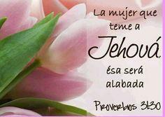 La mujer que teme a Jehova