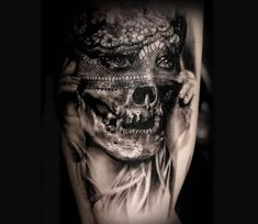 Undead Bride tattoo by Michael Taguet