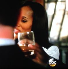 Did you notice that Olivia drank whiskey to celebrate in the office? Interesting...