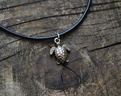 Turtle choker necklace