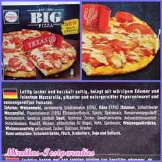 BIG Pizza Texas von Wagner - Lecker, aber zu wenig Belag   Mirellas Testparadies