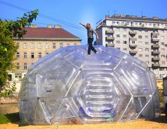 pneumocell inflatable architecture inflatable constructions pneumatische Architektur inflatable design
