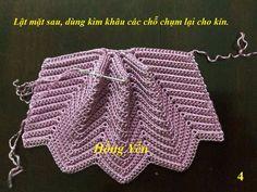 crochet bag pattern diagram, crochet bag pattern y Crochet Clutch, Crochet Handbags, Crochet Purses, Crochet Bags, Modern Crochet Patterns, Crochet Blanket Patterns, Crochet Gratis, Knit Crochet, Knitting Designs