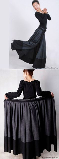 About skirt. Something interesting