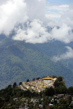 Tawang Monastery, Arunachal Pradesh,. the largest in India. The monastery complex has some 65 residential buildings among other structures and is one of the most beautiful places to visit