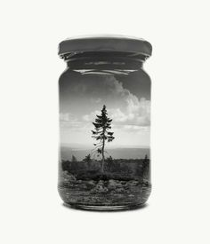 Jarred and Displaced: Mysterious Double Exposure Photography by Christoffer Relander #inspiration #photography